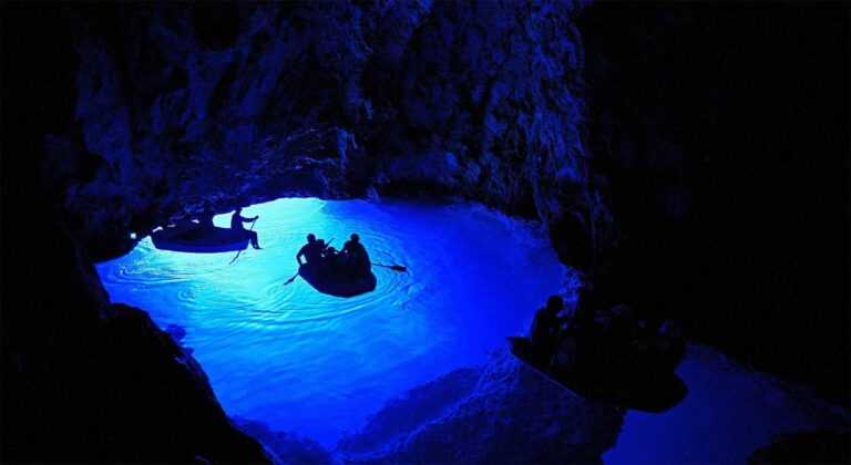 blue cave tour from split