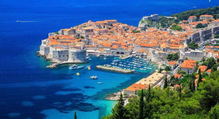 Dubrovnik panorama day view